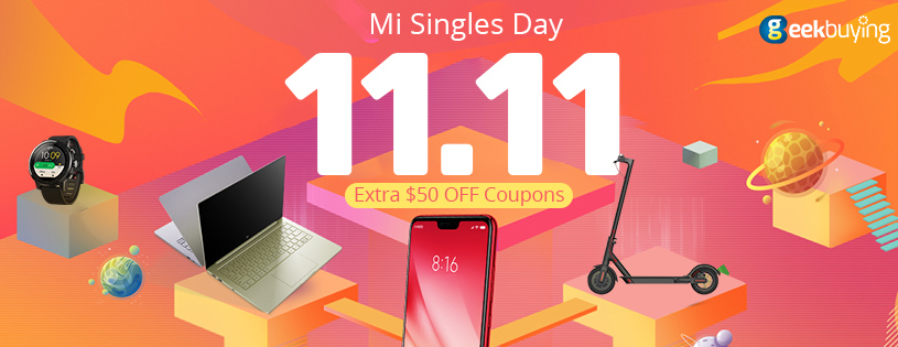 Mi Singles Day-Extra $50 OFF Coupons