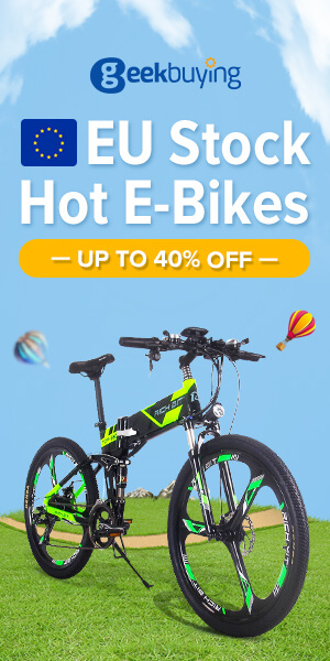 EU Stock Hot E-Bikes & E-Scooters Sale - Up to 40% off