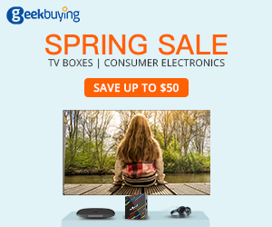 TV BOX Consumer Electronics Spring Sale
