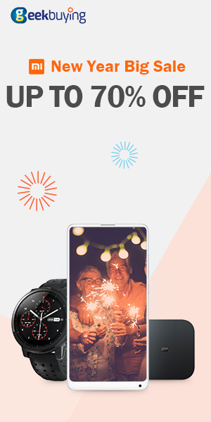 Xiaomi New Year Sale - Up to 70% OFF