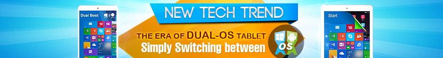 Promotion for Dual OS Intel Tablets