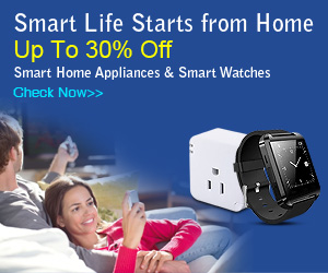 Up to 30% Off Smart Watches & Smart Home Applicances