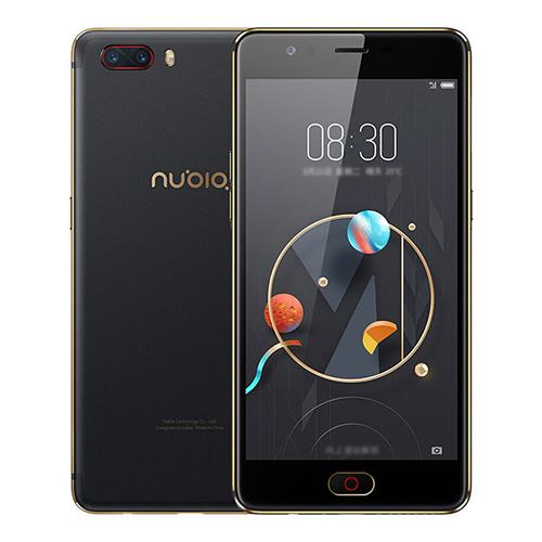$149.99 for Nubia M2 NX551J Smartphone 5.5 Inch Official Global Version FHD Screen 625 Octa Core A53 2.0GHz 4GB 64GB 13.0MP Dual Rear Camera Touch ID