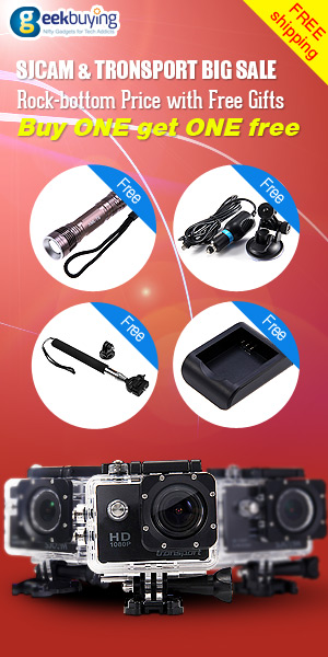 Promotion for sjcam and transport big sale