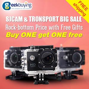 Promotion for sjcam and transport big sale