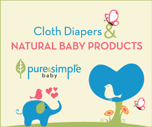 Cloth Diapers and Organic Baby Products