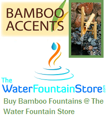 Buy Bamboo Fountains at The Water Fountain Store