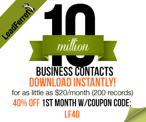 Sales Leads From LeadFerret