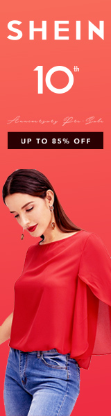 Shein 10th Anniversary Sale