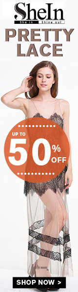 Save up to 50% off on Pretty Lace at SheInside.com!  Shop now!