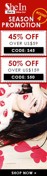 Save up to 50% off during Round 4 of the Season Promotion at SheIn.com! Ends 2/4