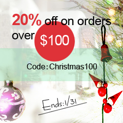 Save 20% off orders $100+ at SheInside.com!  Enter code CHRISTMAS100 at checkout.