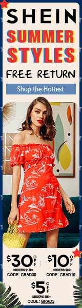 Summer Style Sale - $5 off orders of $59 or more at us.SHEIN.com