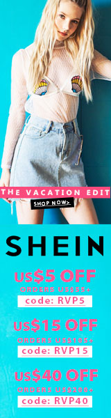 Enjoy $40 off orders $200+ with coupon code RVP40 at SheIn.com! Ends 7/24