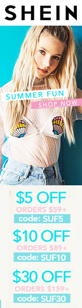 Enjoy $30 off orders $159+ with coupon code SUF30 at SheIn.com! Ends 7/24