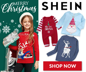 Shop SHEIN for Children's Christmas Apparel
