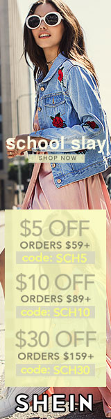 School Slay! Enjoy $30 off orders $159+ with coupon code SCH30 at SheIn.com! Ends 8/7