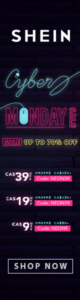 Hottest SHEIN Deals - ca.SHEIN.com - Code on Homepage. Code Subject to change. Expires - 12/09