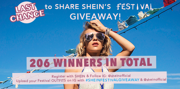 Enter to win at SheIn.com