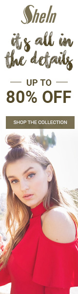 It's All In The Details Sale!  All included items up to 80% off at SheIn.com! Ends 2/20