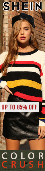 It's the Color Crush! Great looks now up to 85% off at us.SheIn.com!  Ends 10/15