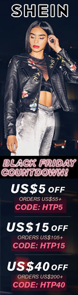 Black Friday Countdown! Get $40 off orders $200+ with coupon code HTP40  at SheIn.com! Ends 11/19