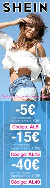 Disfrutar de hasta un 40€ de descuento en es.SheIn.com! termina 26/6