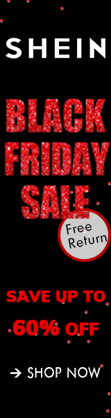 Black Friday Deals - us.SHEIN.com - Code Available on Homepage. Offer Valid 11/26 - 11/29