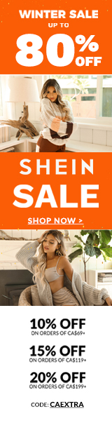 Brand New Beginning at ca.SHEIN.com. Take 10% OFF ON ORDERS CA$69+  15% OFF ON ORDERS CA$119+  20% OFF ON ORDERS CA$199+  with Code CAEXTRA. Offer expires 01/17/2021
