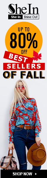 Save up to 80% off Fall Best Sellers at SheIn.com! Sale ends 9/25