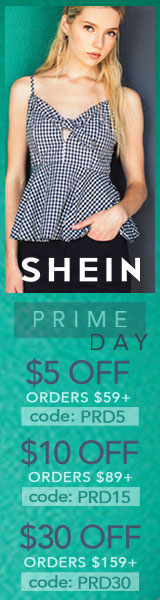 Enjoy $30 off orders $159+ with coupon code PRD30 at SheIn.com! Ends 7/17