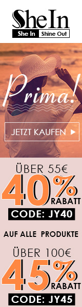 Genießen Sie bis zu 45% Rabatt bei SheIn.com! kurz 13/6