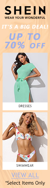 It's a Big Deal at us.SHEIN.com. Up to 70% Off Select Styles, No Code Required. Offer Expires 08/16/2020