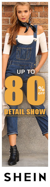 Detail Show! Great looks now up to 80% off at us.SheIn.com!  Ends 10/22