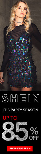 Its Party Season! Up to 85% off Dresses at us.SheIn.com!  Ends 11/26
