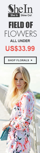 Field of Flowers Sale - All included items under $33.99 at SheIn.com! Ends 7/4