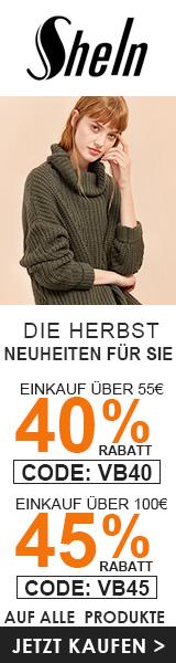 Genießen Sie bis zu 45% Rabatt bei de.SheIn.com! kurz 17/10