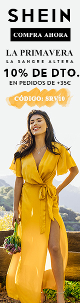 Weekly Deal - es.SHEIN.com Save 10% off orders €35+ with code SRV10.