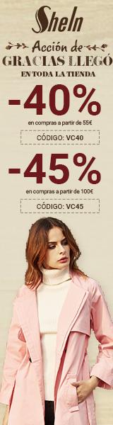 Disfrutar de hasta un 45% de descuento en es.SheIn.com! termina 25/11
