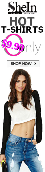 Get Hot T-Shirts for $9.90 Only at SheInside.com