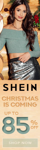 Christmas is Coming! Save $30 off $189 at us.SheIn.com with code BFE30 Offer Expires - 12/17