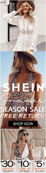 Summer Season Sale - $30 off orders of $189 or more at us.SHEIN.com with code WAVE30 Offer Expires - 08/05