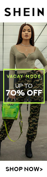 Shop the Vacay Mode Sale at SHEIN.com. Up to 70% Off Now!