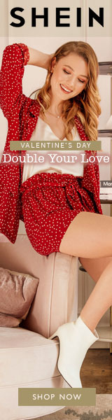 Valentine's Day - Double Your Love Sale at SHEIN.com with code No Code Needed Offer Expires - 02/04