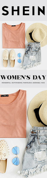 Celebrate International Women's Day with OVER 2000+ items to choose from at SheIn.com