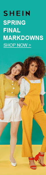 Shop the FINAL Spring Markdowns now at www.SheIn.com