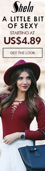 A Little Bit of Sexy Sale - All Items starting at $4.89 at SheIn.com! Ends 9/19