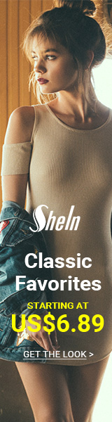 Classic Favorites Sale - All Items starting at $6.89 at SheIn.com! Ends 11/14