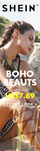 Boho Beauts Sale - All Items starting at $7.89 at SheIn.com! Ends 8/15