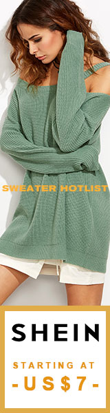 Sweater Hotlist!  Shop the hotest Sweaters starting at $7! Visit SheIn.com! Ends 9/25